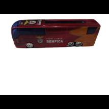 20 cm-es bordó fém csapatszállító busz - Benfica