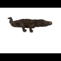 18 cm-es barna krokodil  - Schleich - ÚJ