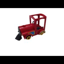 13 cm-es piros mozdony - Playmobil
