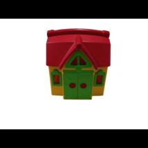 Piros-sárga játék házikó, farm - Playmobil