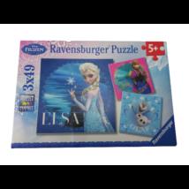 Jégvarázs puzzle, 3 db - Ravensburger