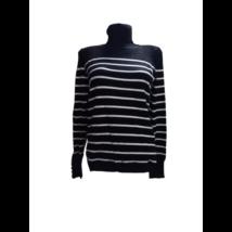 Női M-es fekete-fehér csíkos kötött pulóver - Camaieu