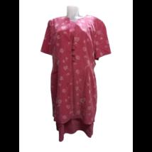 Női XXL-es (44-es) rózsaszín virágos duplaruha - Biaggini
