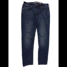 158-as kék pamuttal bélelt farmernadrág - H&M - Linded Denim