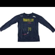 140-es kék feliratos pulóver - Zara