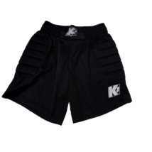 152-es fekete sport rövidnadrág, kapusnadrág - Keeper Sport
