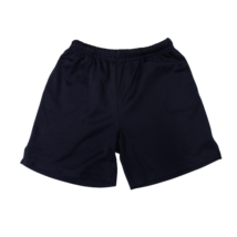 146-152-es kék sport rövidnadrág