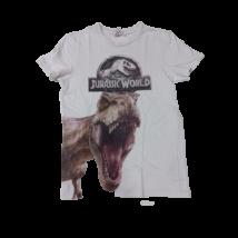 146-152-es fehér póló - Jurassic Park