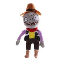 Cowboy mellényes zombi plüss figura - Plants vs. Zombies - ÚJ