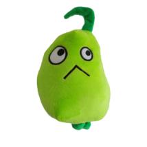 Zöld zöldség, cukkini plüss figura - Plants vs. Zombies - ÚJ