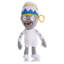 Fehér ruhás zombi plüss figura - Plants vs. Zombies - ÚJ