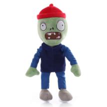 Piros sapkás zombi plüss figura - Plants vs. Zombies - ÚJ