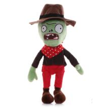 Barna-piros ruhás zombi plüss figura - Plants vs. Zombies - ÚJ