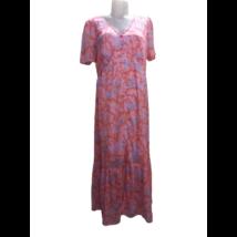 Női M-es rózsaszín mintás lenge ruha - Vero Moda - ÚJ
