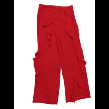 Női M-es piros fodros extravagáns hosszúnadrág - Very - ÚJ
