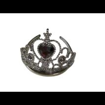 Ezüst köves korona, tiara