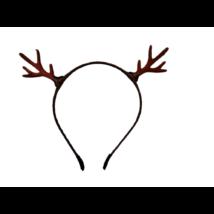Rénszarvasos hajpánt, hajráf