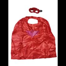 Piros palást és szemmaszk, bagoly - Pizsihősök - PJ Masks