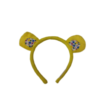 Sárga macifül, jelmezkiegészítő