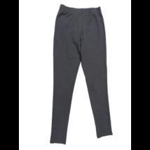 146-152-es szürke leggings jellegű pamutnadrág