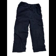 104-es sötétkék pamuttal bélelt nadrág - Bob der Bär  (kis hibával)