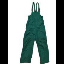 140-es zöld kantáros overallalsó, sínadrág - Lands End