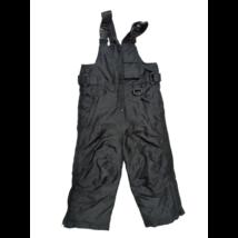 92-es fekete kantáros overallalsó, sínadrág - Ixtreme