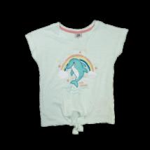104-es türkiz delfines póló lánynak- Kiki & Koko - ÚJ
