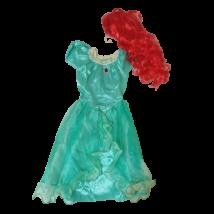 7-8 évesre (M) Ariel jelmez parókával - ÚJ