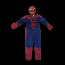 Izmosított Pókember jelmez maszkkal, 5-6 év - Spiderman - ÚJ