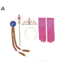 4 db-os Anna jelmez kiegészítő szett, arany - Jégvarázs, Frozen - ÚJ