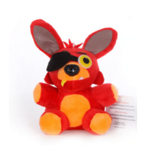 13 cm-es Foxy kalózróka plüss figura - Five Nights at Freddys - ÚJ