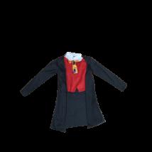 Nagyobb gyerekre piros-fekete nyakkendőr jelmez felső, bohóc