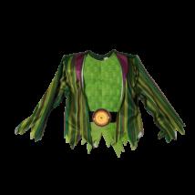 5-6 évesre zöld-lila dupla jelmezfelső