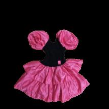 Nagy lány vagy női rózsaszín-fekete táncosruha