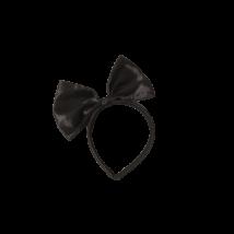 Fekete masnis hajpánt, jelmezkiegészítő