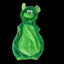 Zöld plüss majom jelmezfelső 2-4 évesre