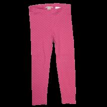 104-es pink, arany szivecskés leggings - H&M