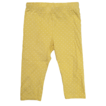 104-es sárga capri pöttyös leggings - H&M