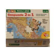 Geopuzzle, 2in1 - kétoldalú kirakó - Lisciani Giochi