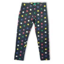 110-116-os szürke alapon színes pöttyös leggings - Benetton 4d3ec1e775