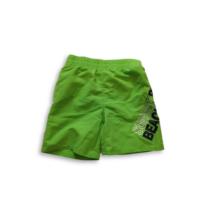 98-104-es zöld hálós bélésű short, fürdőnadrág - In Extenso