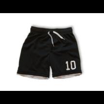 110-116-os fekete sportshort, focishort, rövidnadrág - H&M