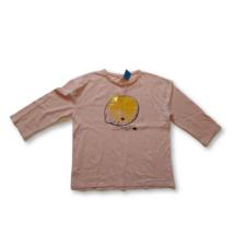 134-es rózsaszín citromos pamutfelső - Zara