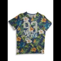 158-164-es virágos feliratos póló - C&A