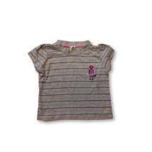 92-es szürke csíkos lány póló - C&A