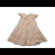 98-as fehér madeirás ruha - Bass