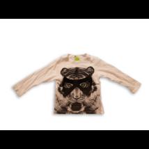 92-es fehér tigrises pamutfelső - H&M
