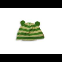 Újszülöttre zöld fülecskés pamutsapka - H&M