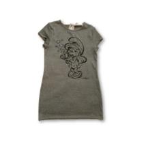 128-134-es szürke ruha - Hupikék Törpikék - Törpilla - Terranova